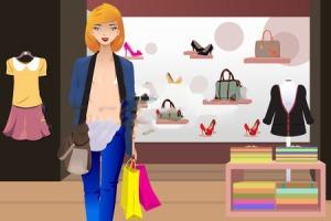27698735-bir-kredi-kartı-tutan-giyim-mağaza-içinde-alışveriş-kadın-bir-vektör-çizim